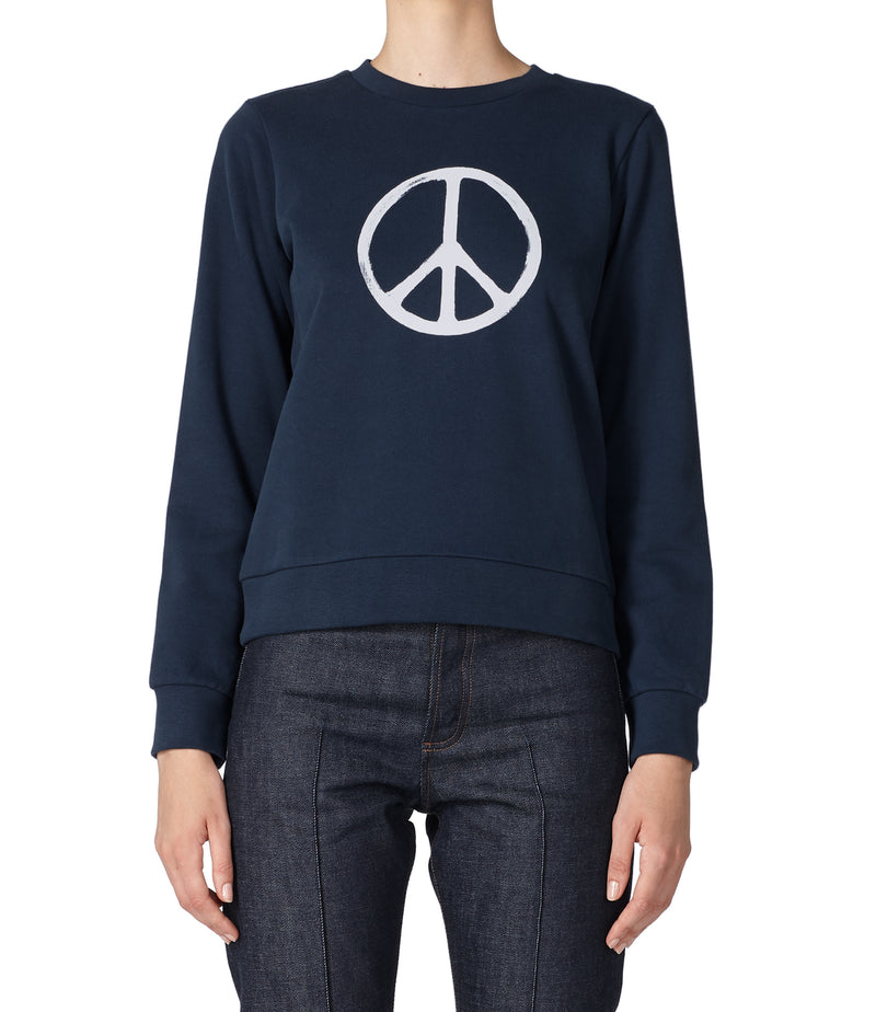 This is the RTH Peace symbol sweatshirt product item. Style IAK-2 is shown.