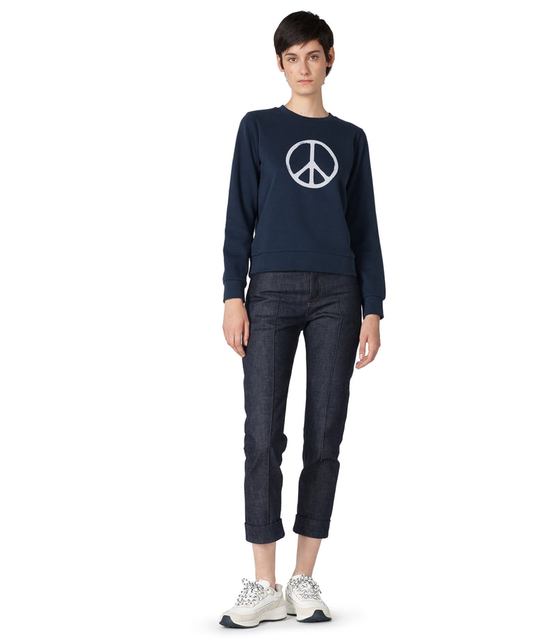 This is the RTH Peace symbol sweatshirt product item. Style IAK-4 is shown.