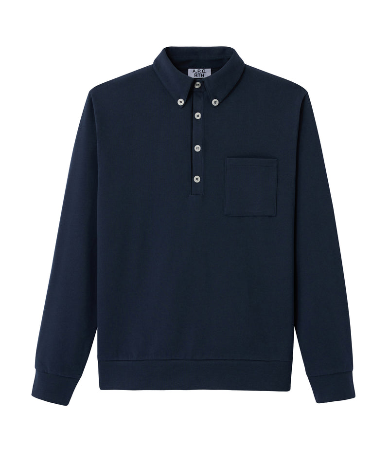 This is the RTH polo shirt product item. Style IAK-1 is shown.