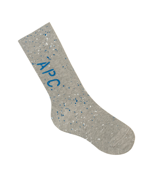 Jean socks - PLB - Light heather gray