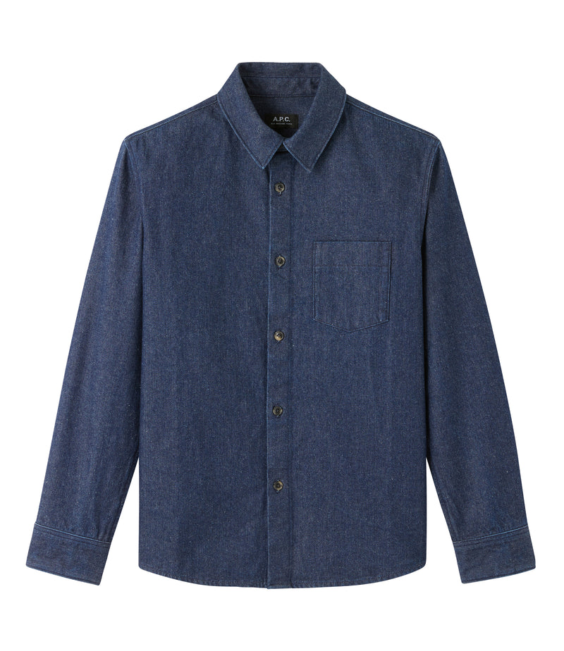 This is the Victor overshirt product item. Style IAL-1 is shown.