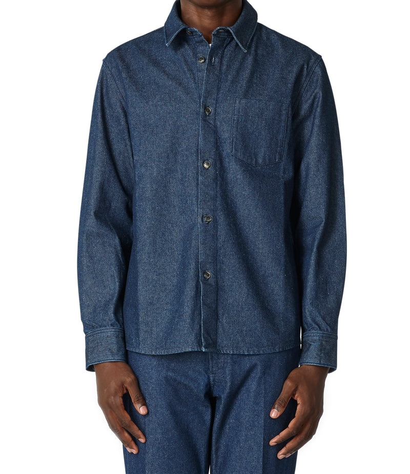 This is the Victor overshirt product item. Style IAL-3 is shown.