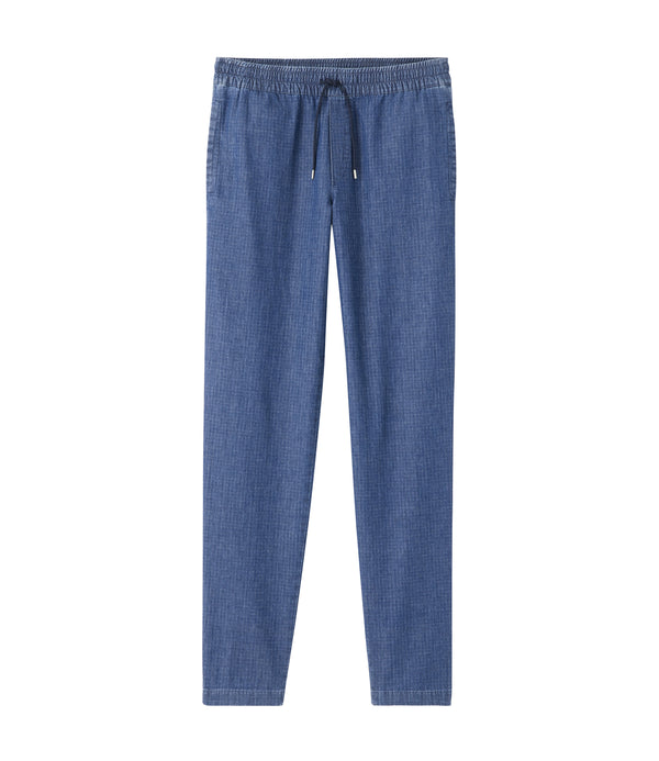 New Kaplan pants - IAL - Stonewashed indigo