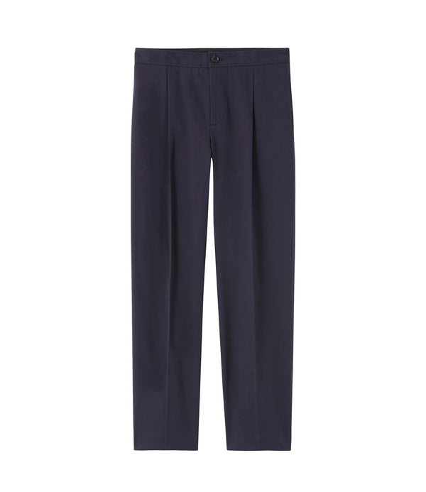 Amalfi pants - IAK - Dark navy blue