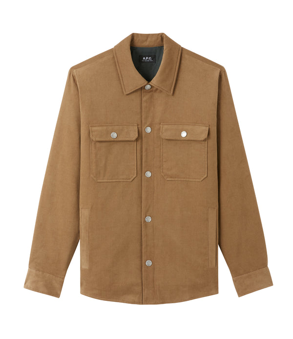 Alex jacket - CAG - Tobacco