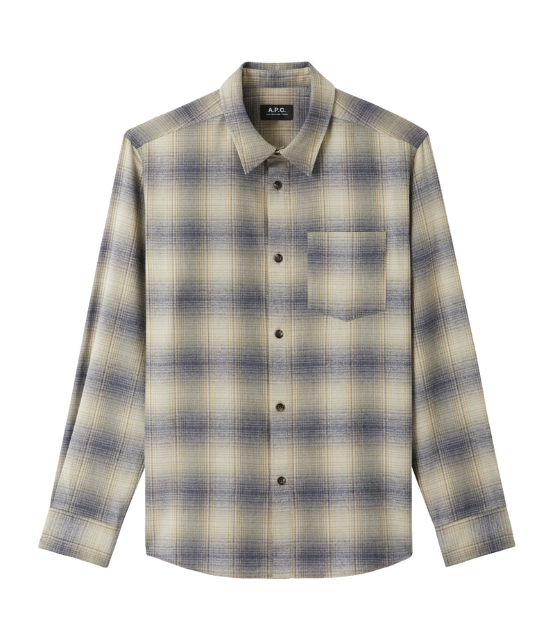 This is the John overshirt product item. Style BAA-1 is shown.