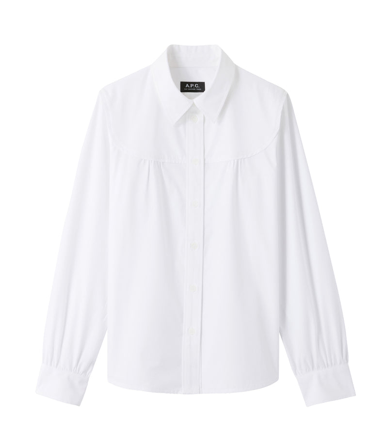 This is the Pascale shirt product item. Style AAB-1 is shown.
