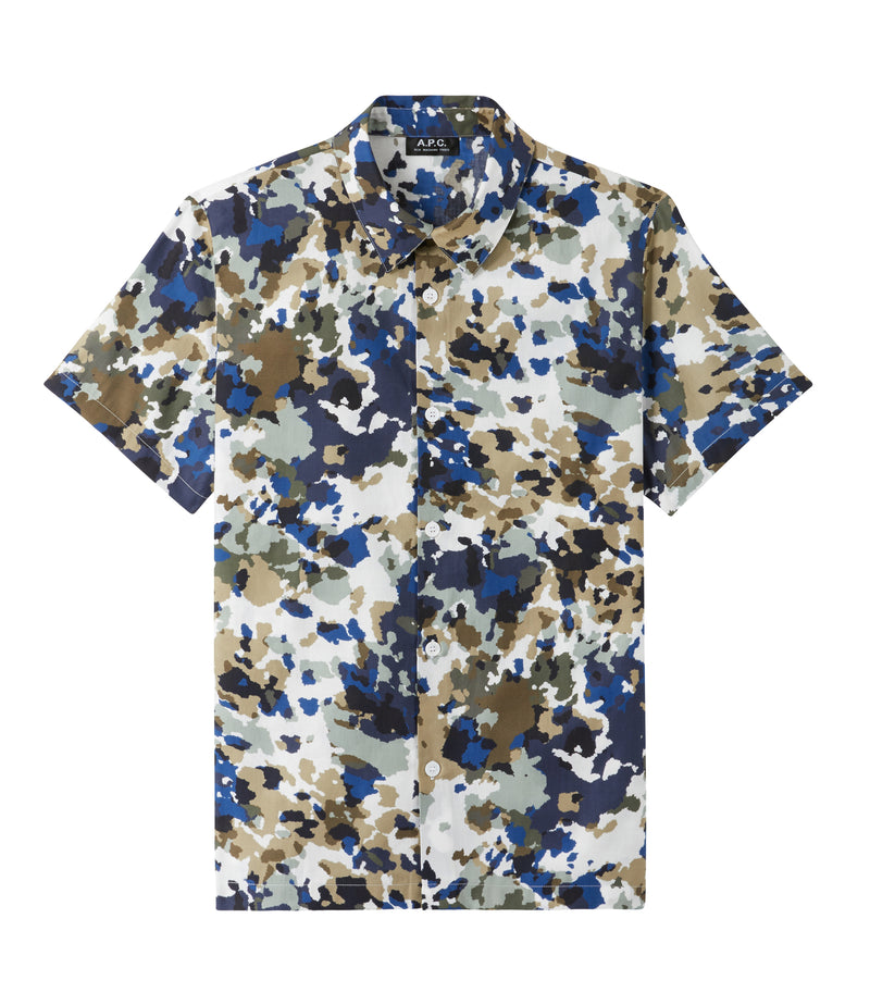 This is the Léandre short-sleeve shirt product item. Style SAA-1 is shown.