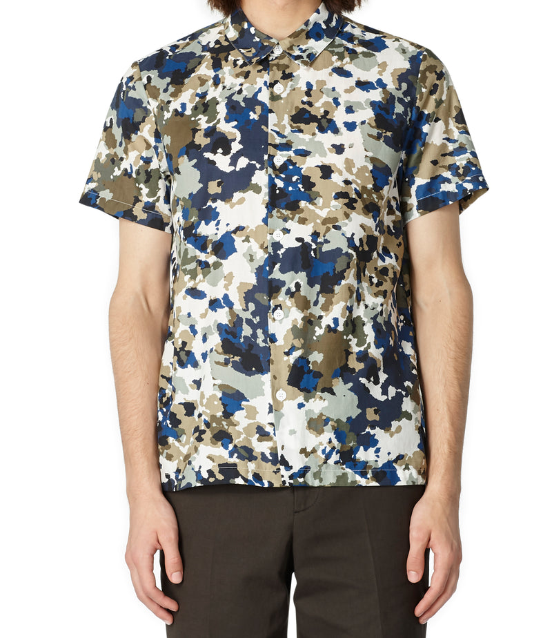This is the Léandre short-sleeve shirt product item. Style SAA-2 is shown.