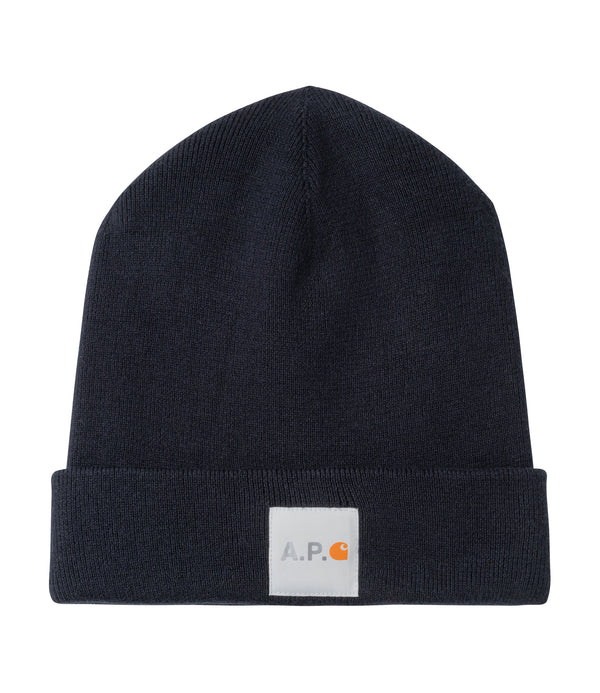 Watchtower knit cap - IAK - Dark navy blue