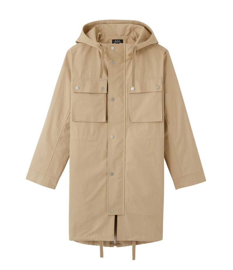 This is the Marius parka product item. Style BAA-1 is shown.