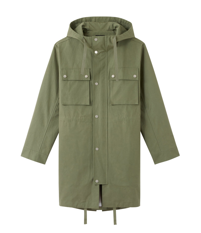 This is the Marius parka product item. Style JAA-1 is shown.