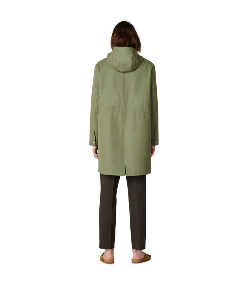 This is the Marius parka product item. Style JAA-2 is shown.