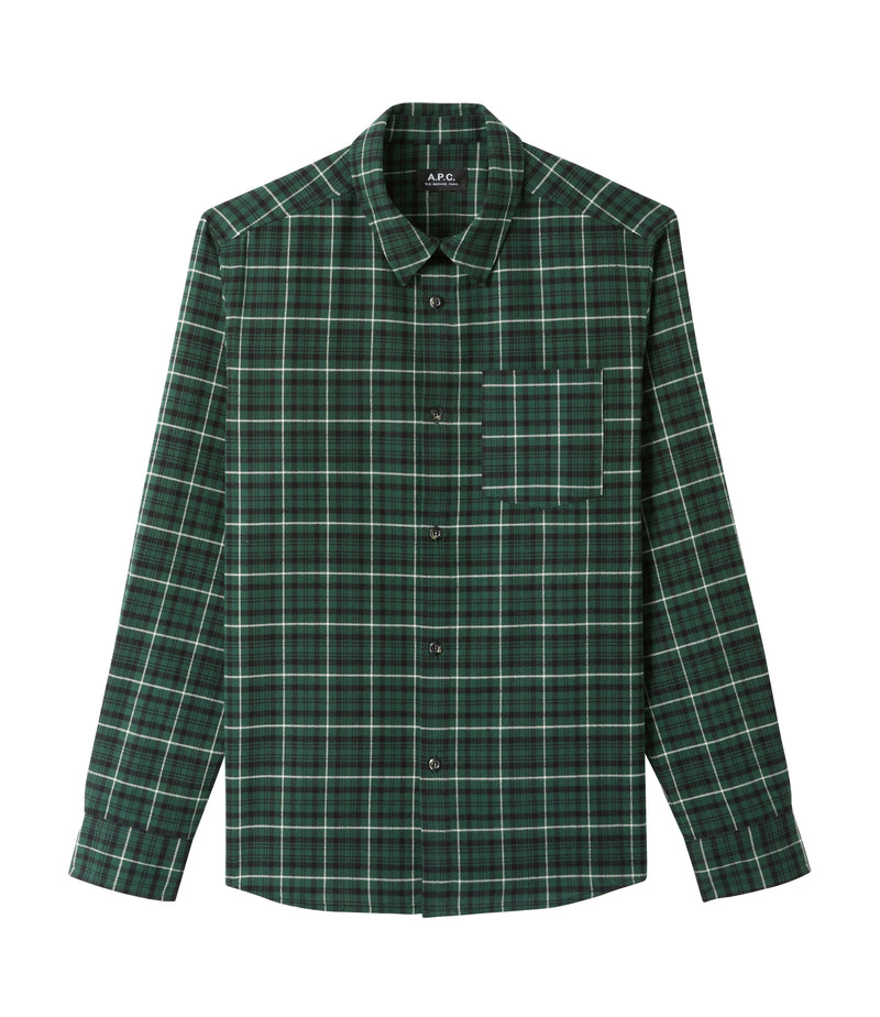 This is the John overshirt product item. Style KAA-1 is shown.