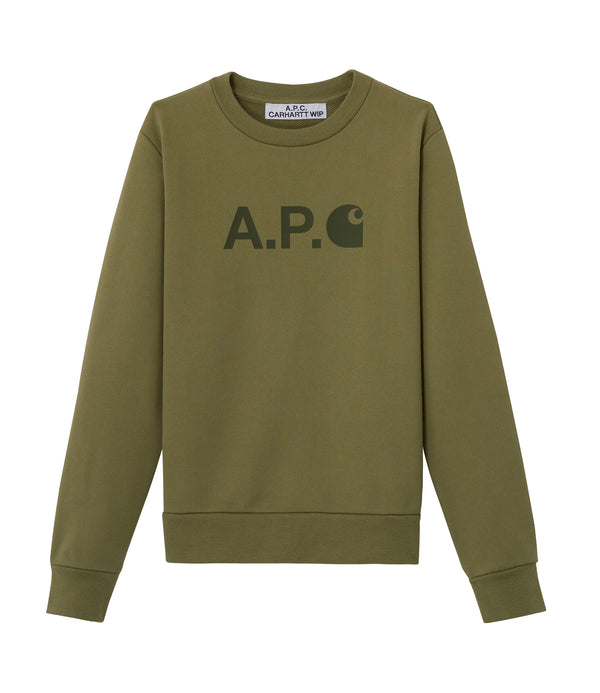 Ice sweatshirt - JAA - Khaki green