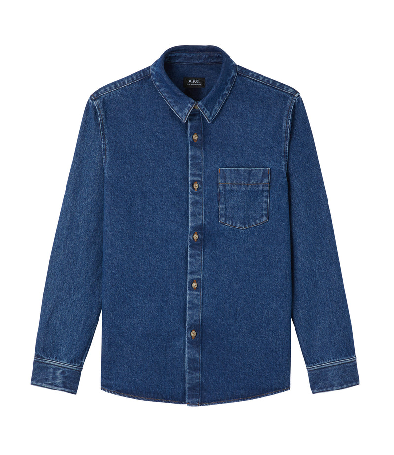 This is the Victor overshirt product item. Style IAH-1 is shown.