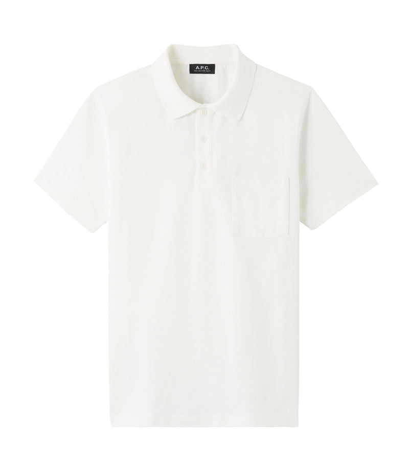 This is the Archie polo shirt product item. Style AAB-1 is shown.