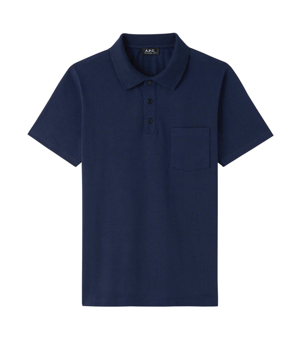Archie polo shirt - IAK - Dark navy blue