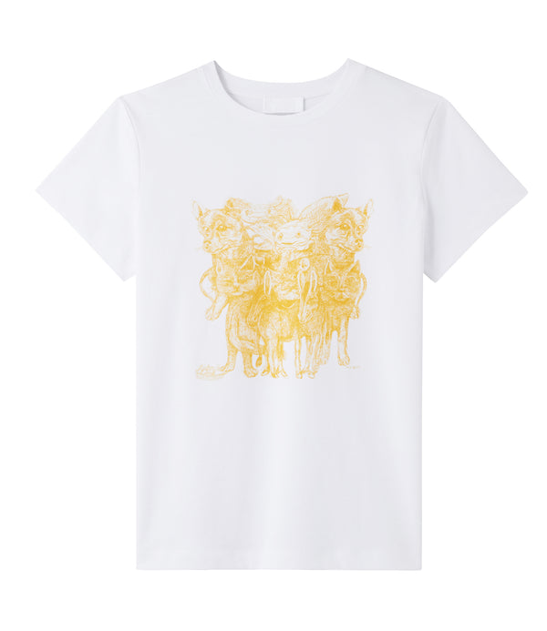 L'arche T-shirt - DAA - Yellow