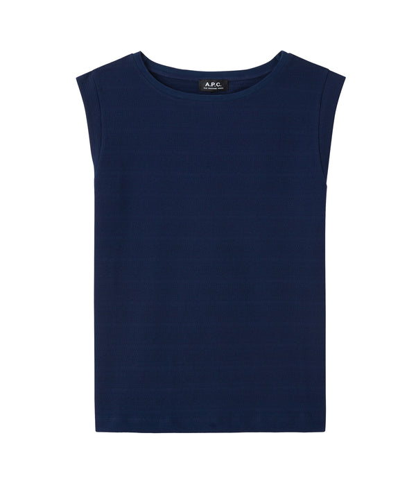 Milie top - IAJ - Navy blue