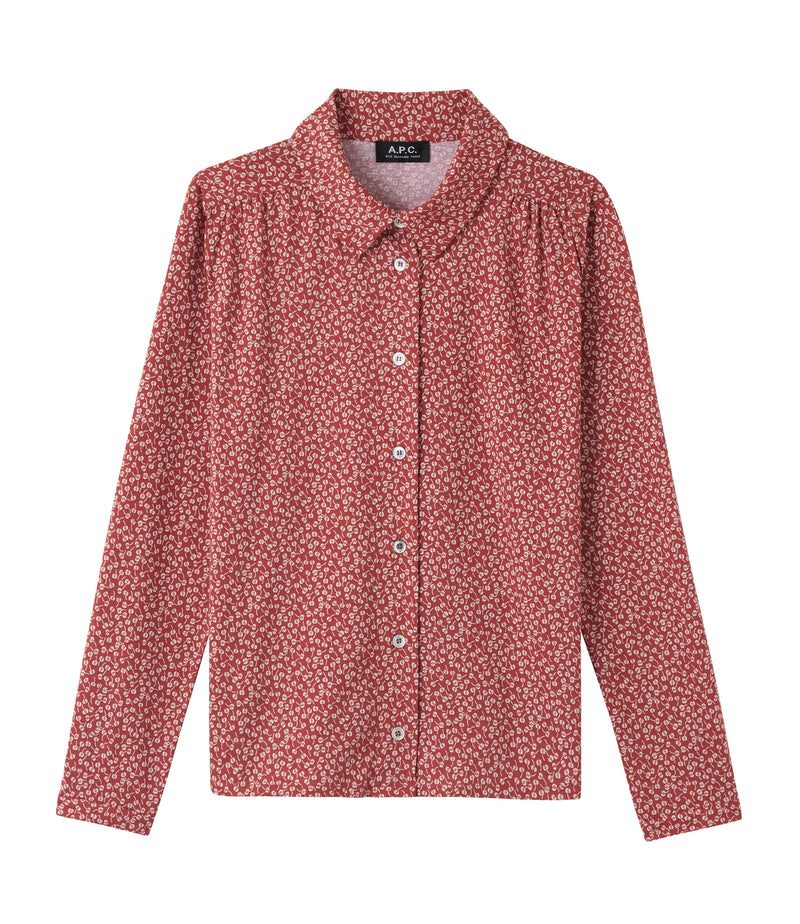 This is the Margaux shirt product item. Style EAF-1 is shown.