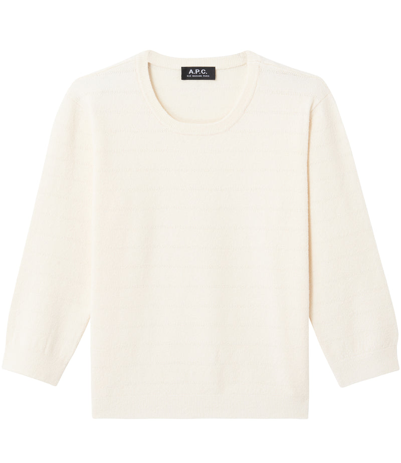 This is the Zoe sweater product item. Style AAD-1 is shown.