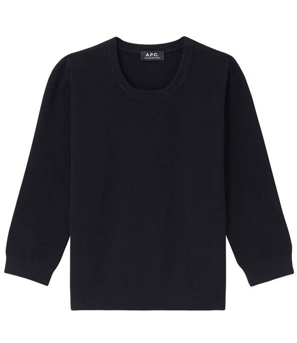 Zoe sweater - LZZ - Black