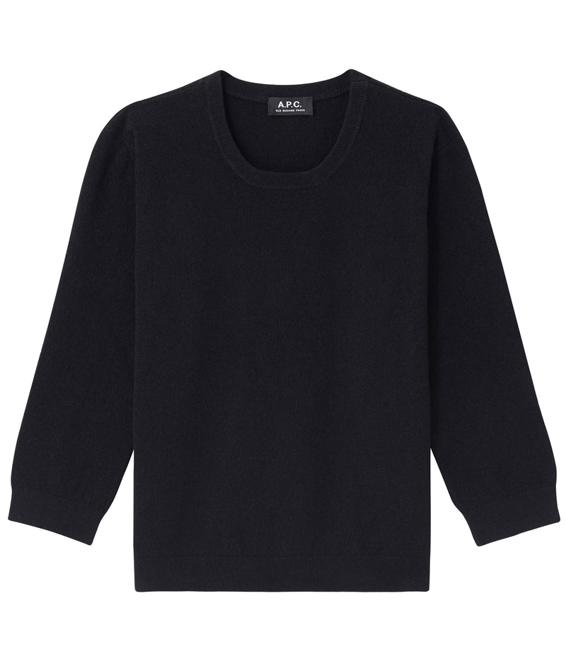 This is the Zoe sweater product item. Style LZZ-1 is shown.