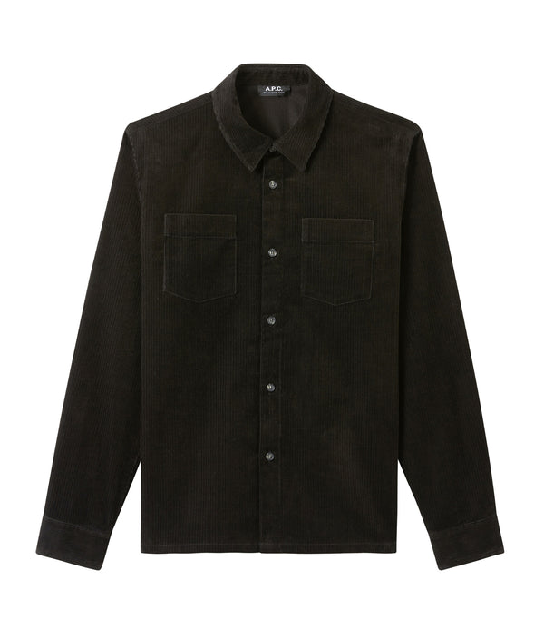 Joe overshirt - LZZ - Black