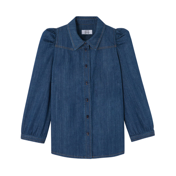 Margaret shirt - IAA - Blue