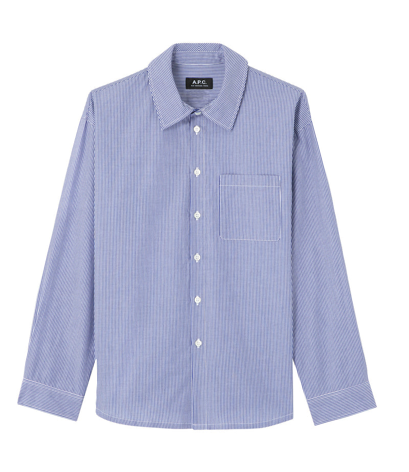 This is the Boyfriend shirt product item. Style IAH-1 is shown.