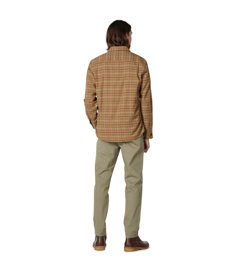 This is the John overshirt product item. Style BAA-3 is shown.