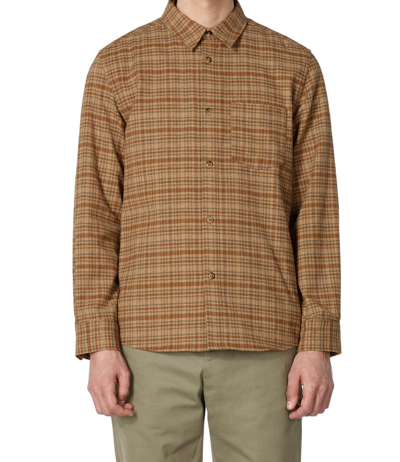 This is the John overshirt product item. Style BAA-2 is shown.