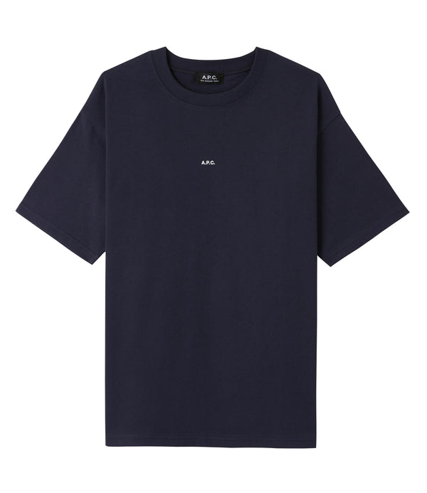 Kyle T-shirt - IAK - Dark navy blue