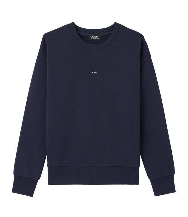Annie sweatshirt - IAK - Dark navy blue