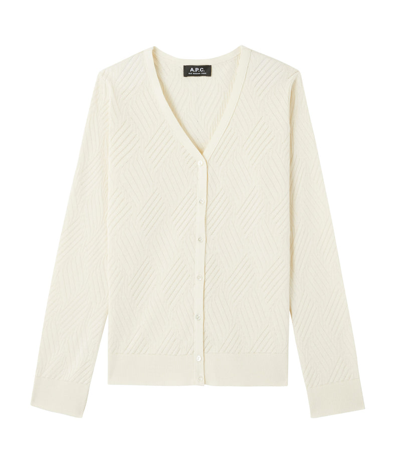 This is the Judy cardigan product item. Style AAD-1 is shown.