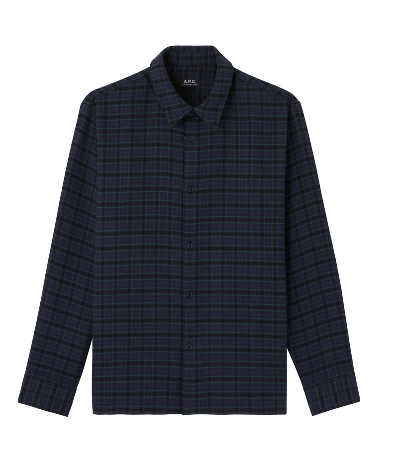 This is the Land overshirt product item. Style IAJ-1 is shown.