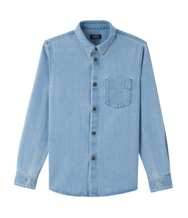 Victor overshirt - IAB - Pale blue