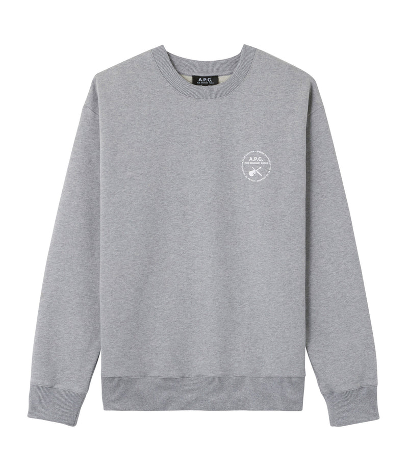 This is the Gary sweatshirt product item. Style PLA-1 is shown.