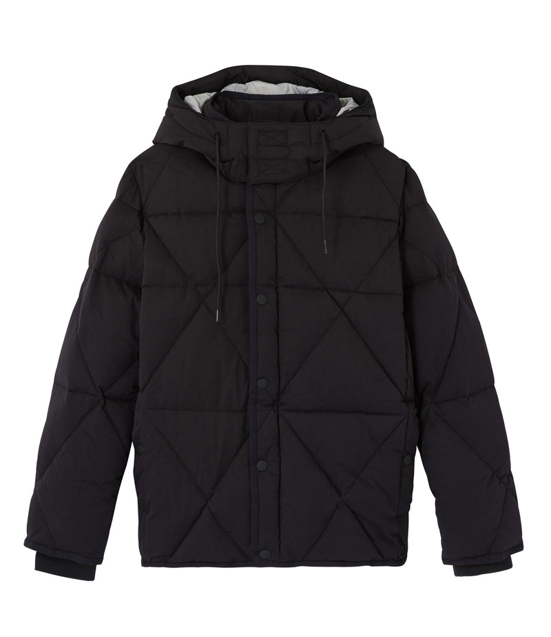 This is the Unisex Tibo down jacket product item. Style LZZ-1 is shown.