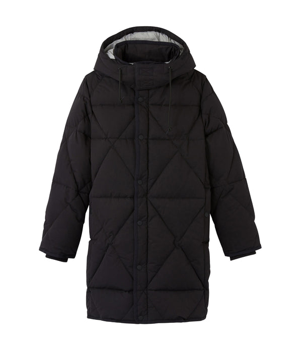 Unisex Seb down jacket - LZZ - Black