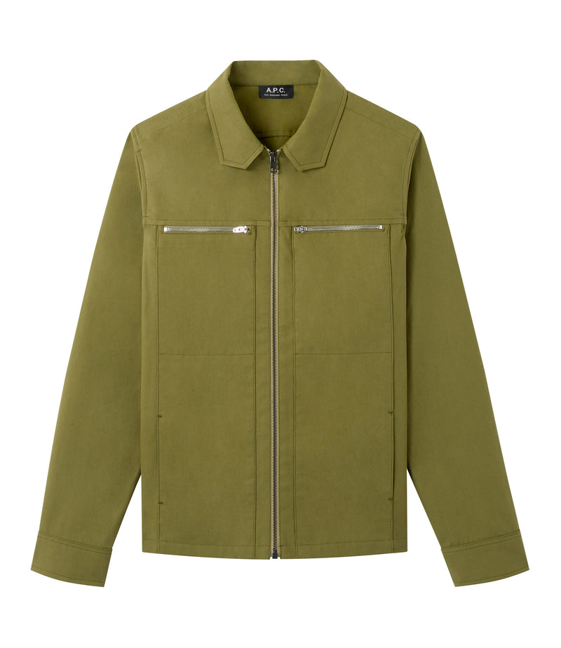 This is the Oahu jacket product item. Style JAA-1 is shown.