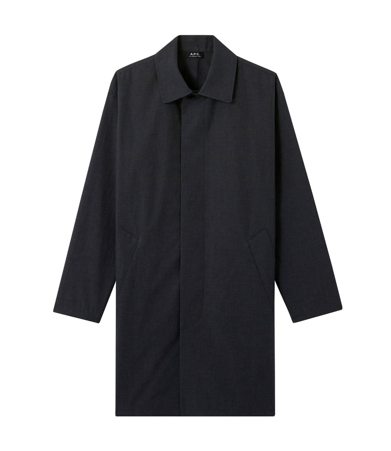 This is the Nickols raincoat product item. Style LAD-1 is shown.