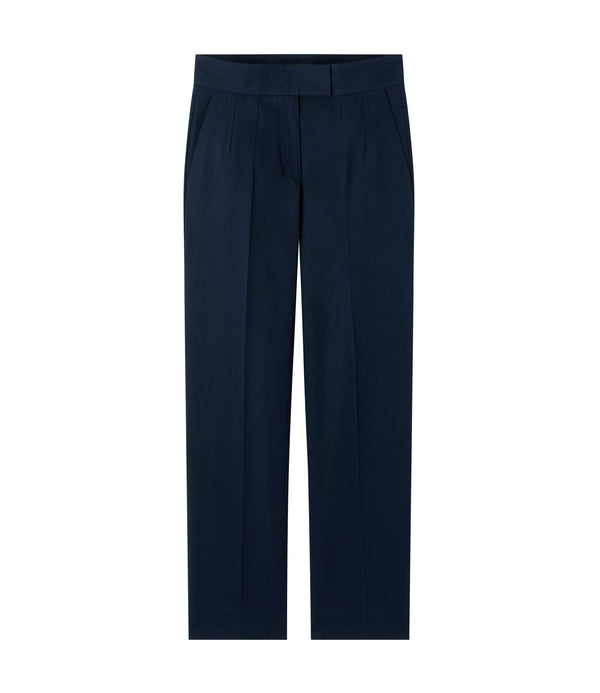 Ann pants - IAK - Dark navy blue