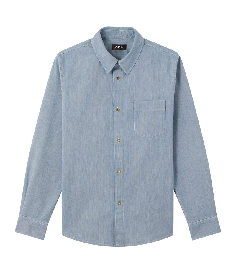 This is the Victor overshirt product item. Style IAB-1 is shown.
