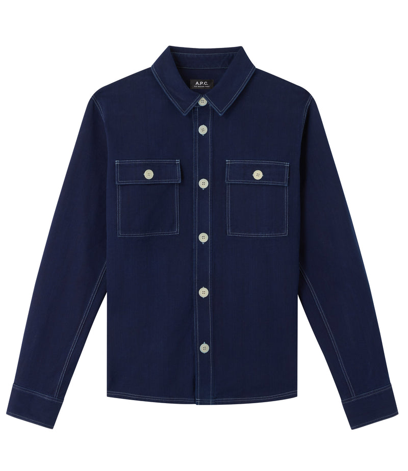 This is the Bastian overshirt product item. Style IAL-1 is shown.