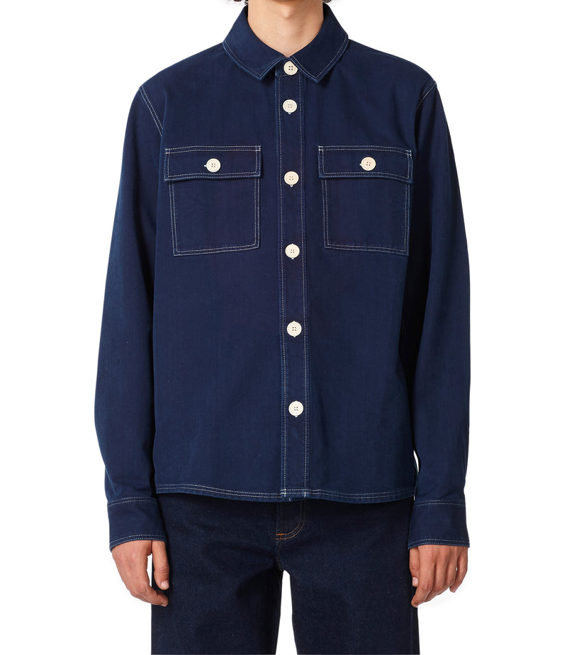 This is the Bastian overshirt product item. Style IAL-4 is shown.