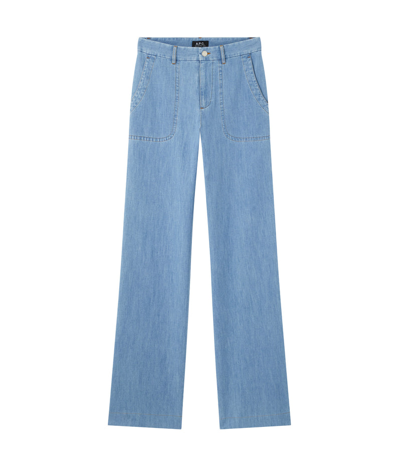 This is the Seaside jeans product item. Style IAB-1 is shown.