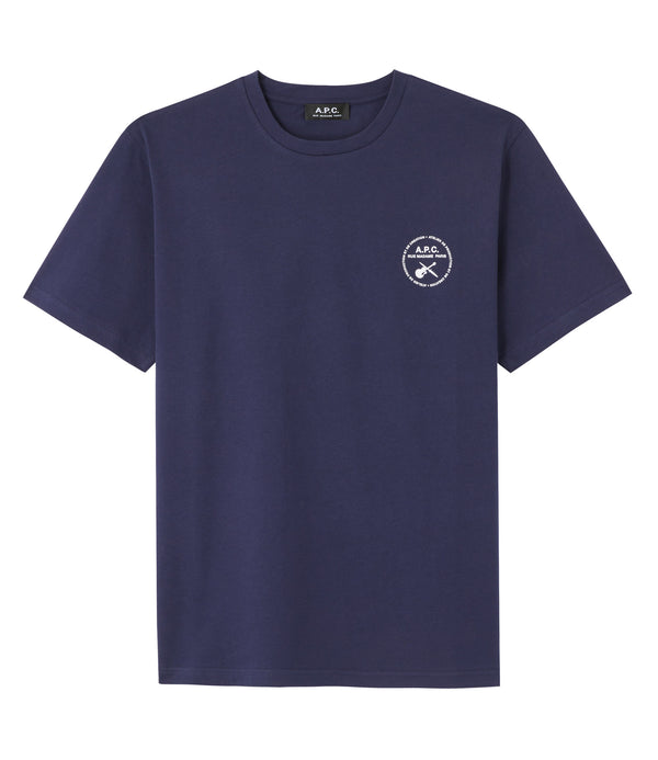 Ed T-shirt - IAK - Dark navy blue
