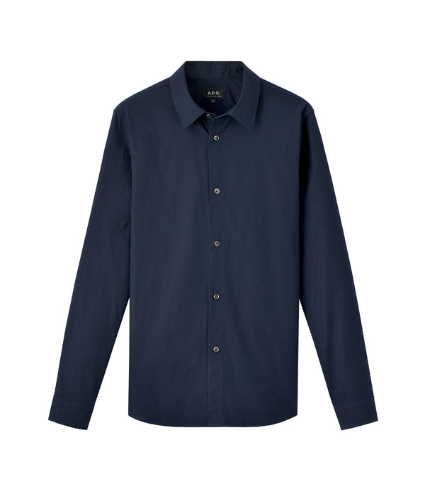 Casual shirt - IAK - Dark navy blue